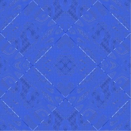flooring: Blue diamond background as texture tiles in the bathroom Stock Photo