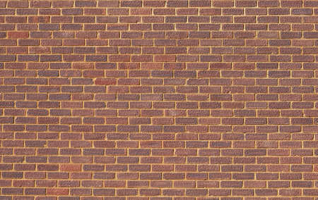 Background of red brick wall pattern Stock Photo