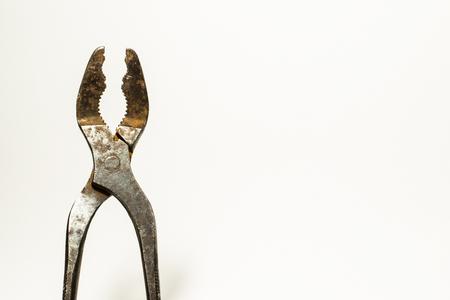 오래 된 조합 펜 치 상세 샷 스톡 콘텐츠