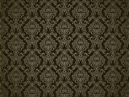 Damask repeating pattern Vector