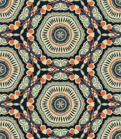 ethnic pattern: Hand drawn repeating wallpaper.