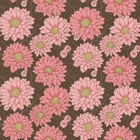 Floral seamless pattern with hand drawn flowers Stock Vector - 11500284