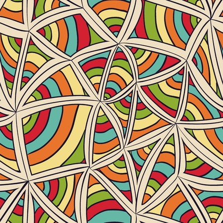 Abstract colorful repeating background