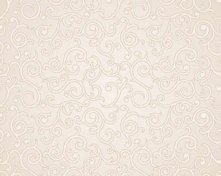 romantic: Abstract seamless wallpaper with hand drawn elements.