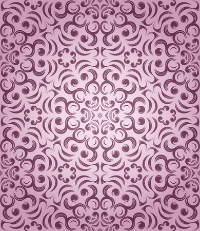 seamless pattern in retro style. Hand drawn. Vector