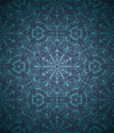 グラデーションの背景とのシームレスなパターン  イラスト・ベクター素材