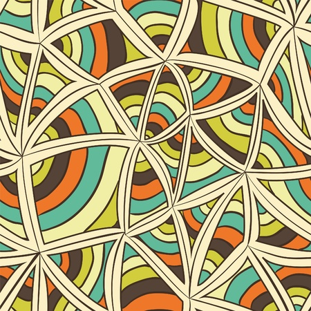 Abstract repeating background. Unusual. Colorful Stock Illustratie