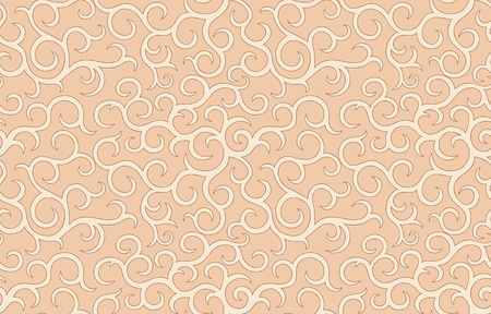 vintage seamless pattern  in retro style. Very gently. Vector