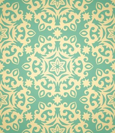 arabesque wallpaper: Vintage seamless in stile retr�. Molto delicatamente. Vettoriali