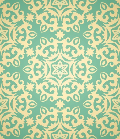 victorian wallpaper: vintage seamless pattern  in retro style. Very gently.