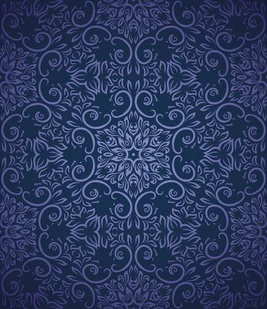 Naadloos patroon met gradient achtergrond Stock Illustratie