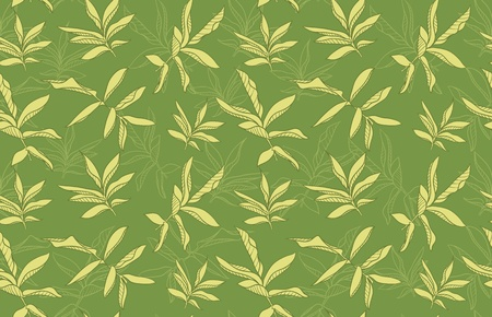 weeds: color seamless background with leafs