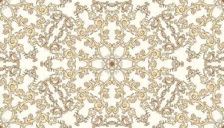 victorian wallpaper: vintage seamless pattern on gradient background