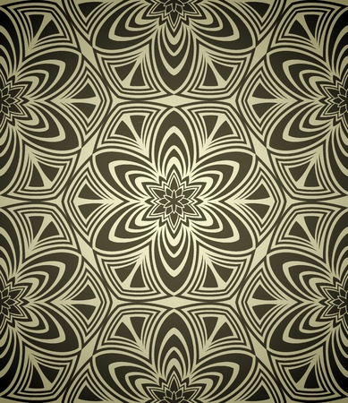 Seamless wallpaper in retro style Stock Vector - 13294784
