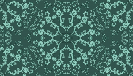Seamless pattern with gradient background Vector