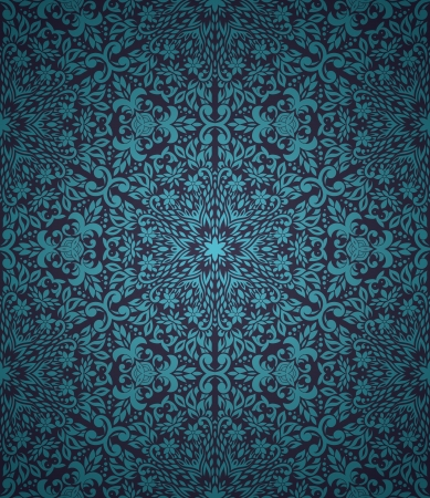 arabesque wallpaper: Seamless pattern with gradient background