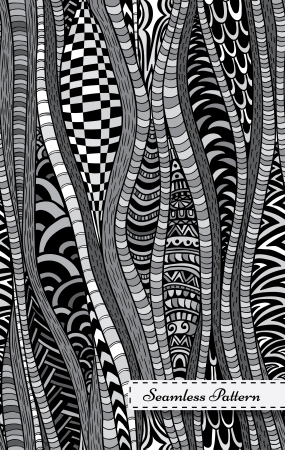 Abstract seamless pattern in modern style