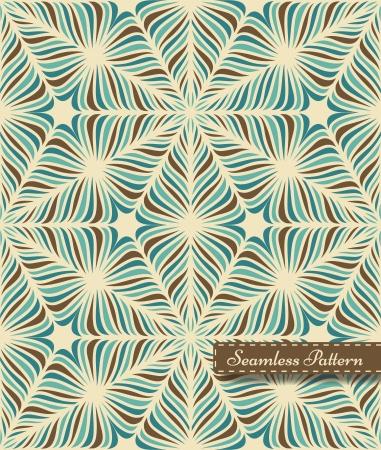 Stylized frozen seamless pattern on white background