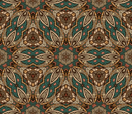 Colorful abstract pattern in retro style