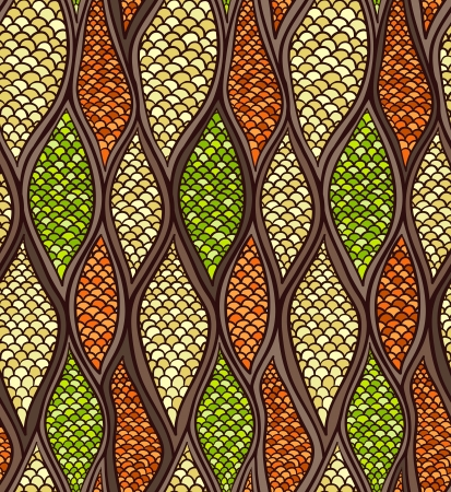 art deco background: Abstract seamless pattern Bright colors