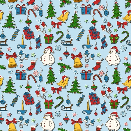 Christmas seamless pattern Stock Vector - 16937457