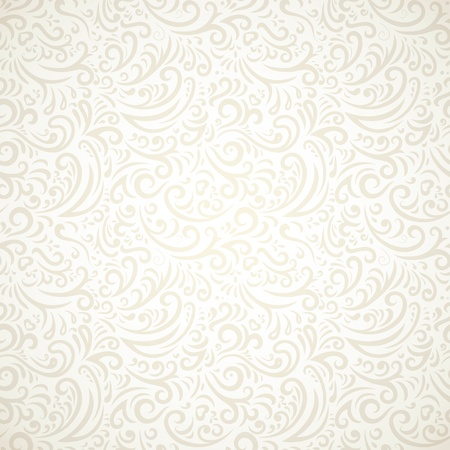 seamless: Light vintage seamless pattern with gradient  Illustration
