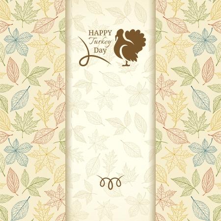 추수 감사절 인사말 카드