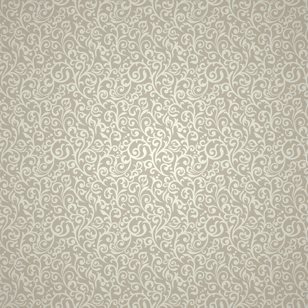 Vintage seamless pattern with lot of detailed elements.