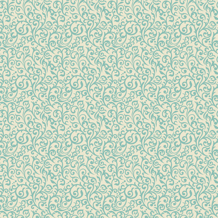 Vintage seamless pattern with lot of flourish elements