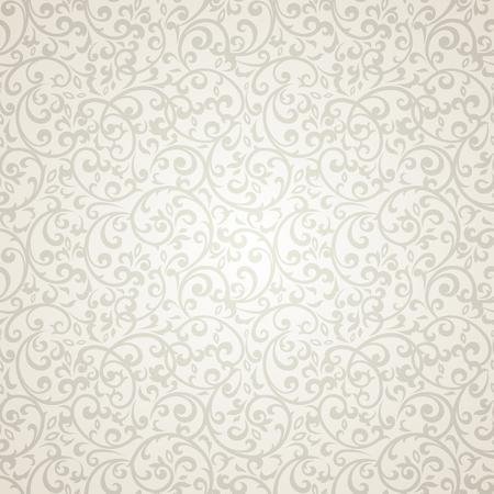 verschnörkelt: Jahrgang nahtlose Muster mit viel Detailelemente.