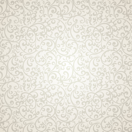 fabric design: Vintage seamless pattern with lot of detailed elements.