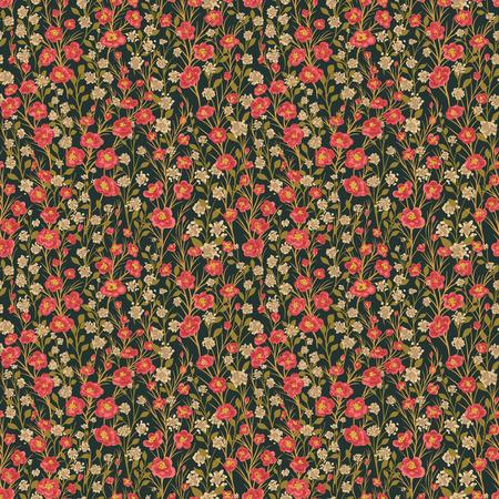 petites fleurs: Seamless avec des petites fleurs Illustration