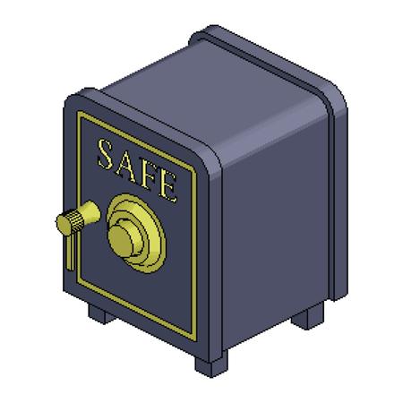 등각 투영 픽셀 안전