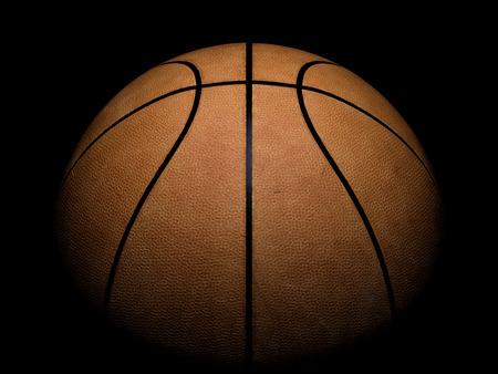黒の背景に注目するバスケット ボール 写真素材 - 84051868
