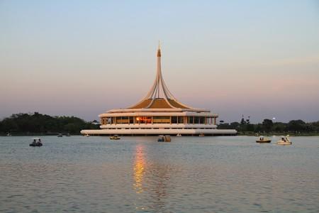 ix: Building enneagon, Suan Luang Rama IX, Park in Bangkok,