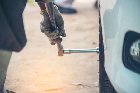 Mechanic man car service repair automobile garage autocar vehicles service mechanical man engineering. Automobile mechanical close up hands fixing car repairs. Mechanic technician workshop center