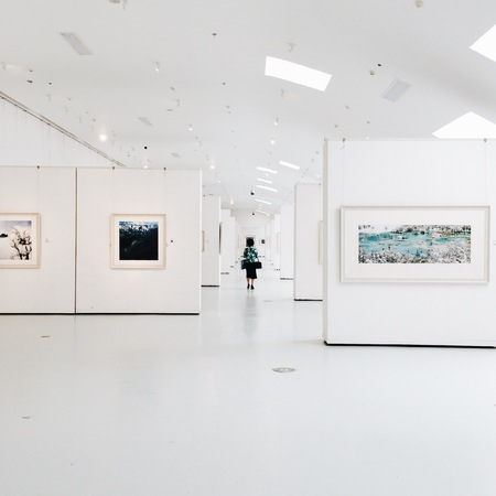 Sichuan Art Museum exhibition hall