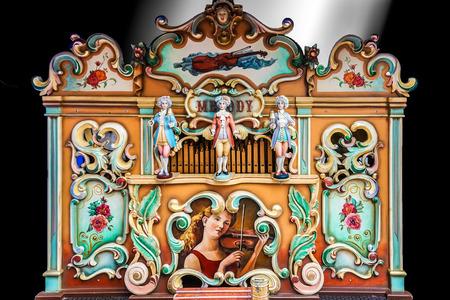 repertoire: Traditionele draaiorgel in de straten van Amsterdam