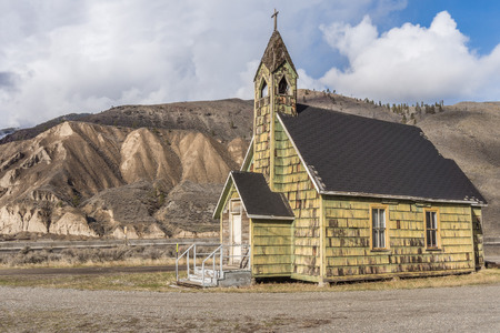 country church: Old Country Church in Spences Bridge in the Fraser Canyon