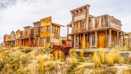 Old Western Ghost Town 写真素材