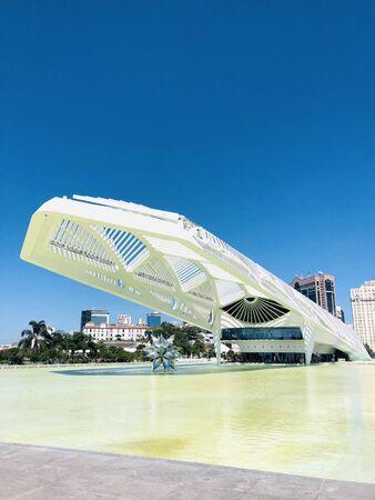 The Museum of Tomorrow, in Rio de Janeiro, Brazil. Editorial