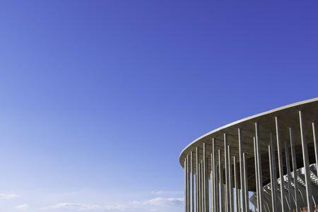 The National Stadium in Brasilia, Brazil.