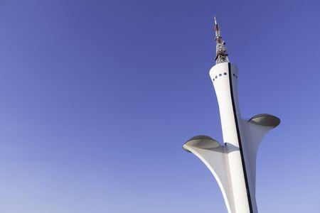 The Digital TV Tower in Brasilia, DF / Brazil. Designed by renowned architect Oscar Niemeyer.