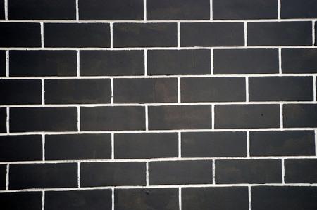 solid: Grey solid brick wall