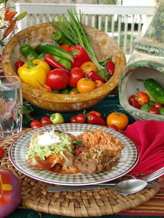 mexican food: Alimento Mexicano Foto de archivo