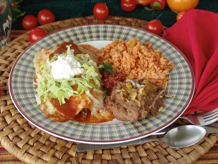 mexican food: Comida mexicana  Foto de archivo