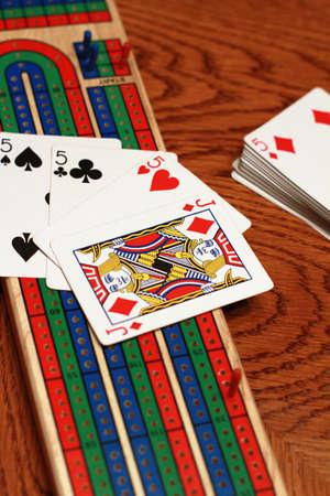 Mejor cribbage de mano Foto de archivo - 8417932