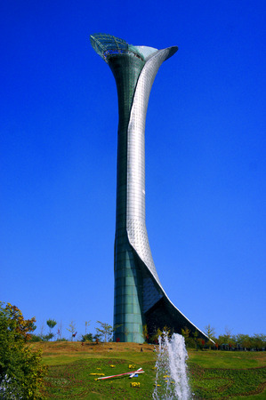 the world expo: Shenyang World Expo lily tower