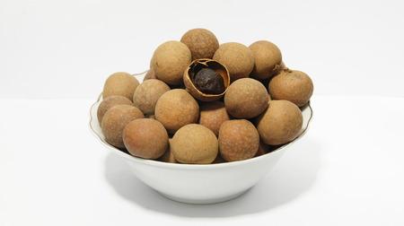sweet and savoury: Longan Stock Photo