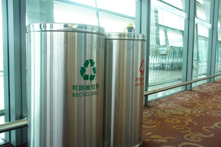 inorganic: recyclable & non-recyclable  Trash